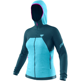 Dynafit Tour Wool Thermal Hoody Dames, petrol